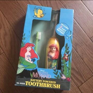 新品 ディズニー プリンセス  アリエル  電動歯ブラシ