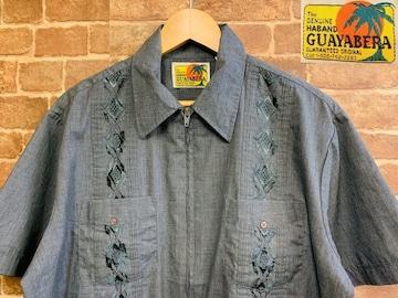 実寸XL/XXL!70s 80s ビンテージ ガイヤベラ キューバシャツ 古着 アメカジ サーフ