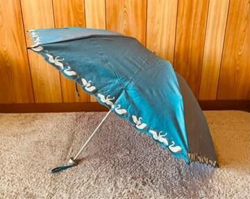 PAUL & JOE sister  雨傘 折りたたみ傘 白鳥柄