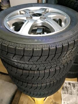 155/65R13 スタッドレスタイヤ、アルミ付4本セット