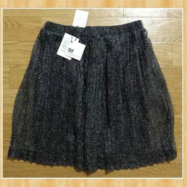 購入6825円 SLY スライ 新品 プリーツスカート ワンサイズ < ブランドの