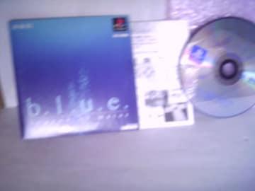 PS b.l.u.e. Legend of water 体験版ゲームCD中古品