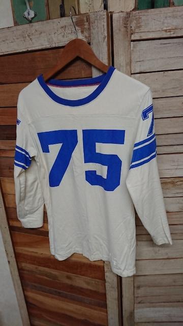 ジャクソンマティス JACKSON MATISSE フットボール8分袖Tシャツ  < 男性ファッションの
