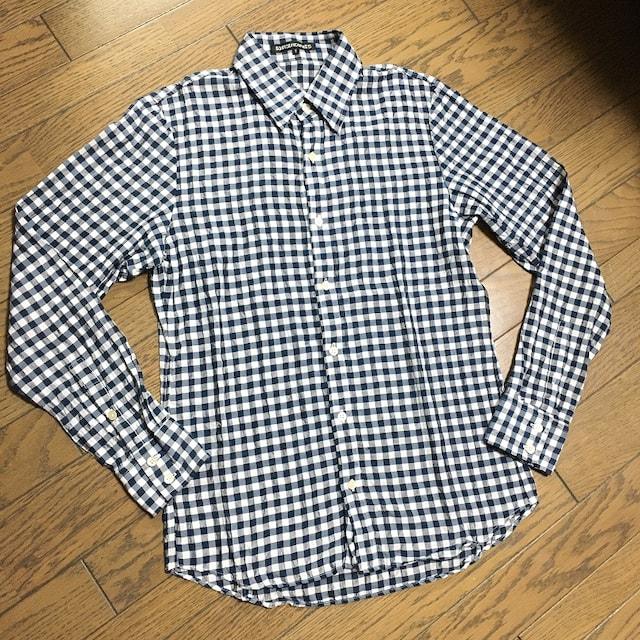 5351 Pour Les HOMME シワ加工 シャツ 日本製  < ブランドの