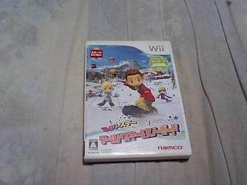 【Wii】ファミリースキー ワールドスキー&スノーボード
