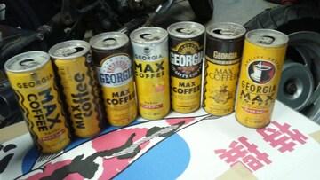 当時物 レア マックスコーヒー 7本 バブ