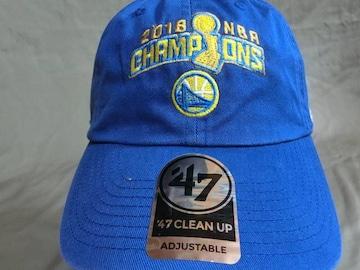47BRAND 2018 NBA CHAMPIONS GS ウォリアーズ CAP