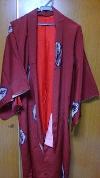 ∞ 赤っぽい着物
