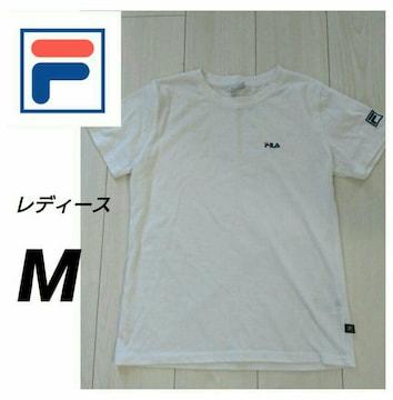 FILA レディースTシャツ サイズM ホワイト
