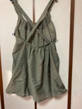 萩原 被りエプロン ジャンパースカートタイプ