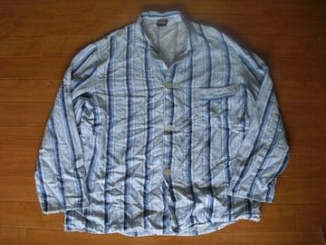 ヴィンテージ ドイツ ジャーマン パジャマシャツ Mサイズ