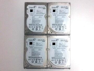 ★ハードディスク シーゲート ST500LT012 500GB SATA 4個セット