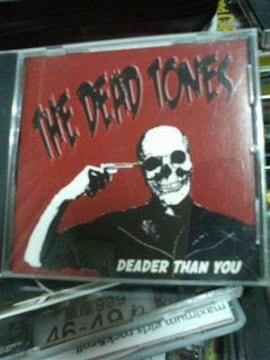 THE DEAD TONES/DEADER THAN YOUサイコビリーロカビリー