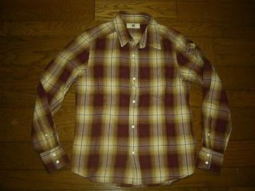 エムMスター☆柄チェックシャツS星★TMT