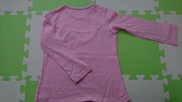 110女の子 ミキハウス 長袖Tシャツ < ブランドの