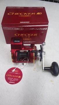 CHECKER(チエッカー船)デプスカウンター付 両軸リール 送料込み