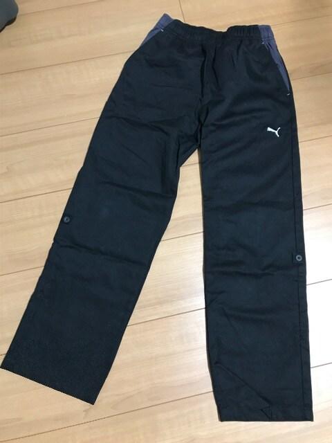 美品 PUMA長ズボン プーマ 140 長さ調整可能  < ブランドの