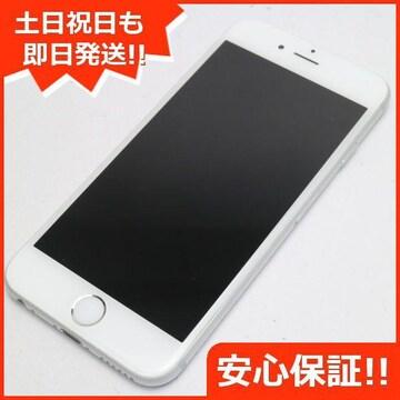 ●安心保証●美品●DoCoMo iPhone6 16GB シルバー●白ロム