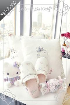 Rady☆Hellokitty☆大人気即完売☆スリッパ☆ホワイト☆新品タグ付き
