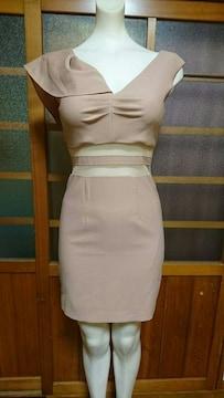 dazzy 肩フリル ミニドレス