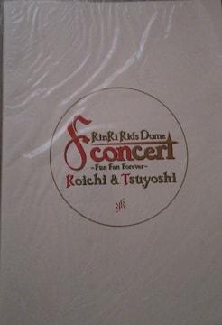 キンキキッズ Fun Fan Forever コンサート パンフレット