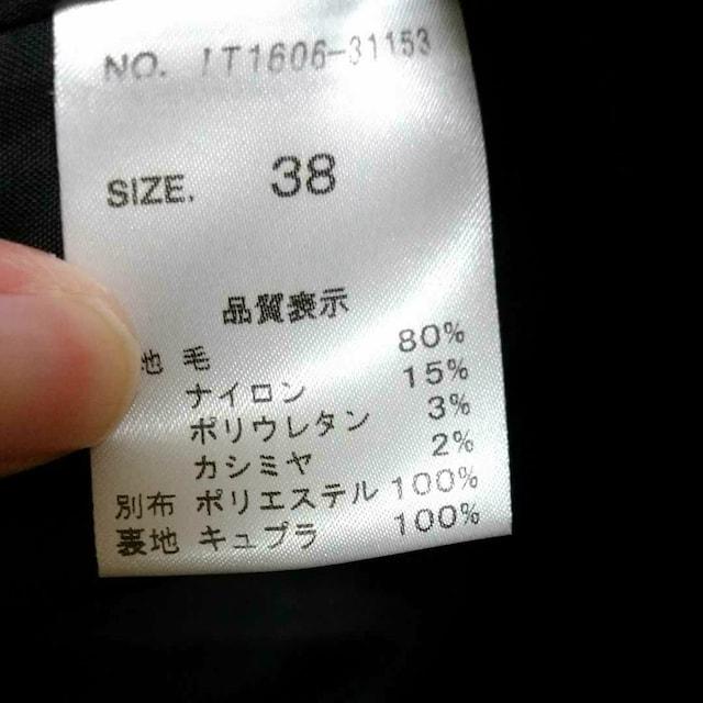高島屋 フォーマル黒スーツ サイズM 38 < 女性ファッションの