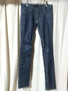 シカタCICATAスキニーデニムパンツサイズ1ジーンズ日本製ドメスティックロック古着屋メンズ