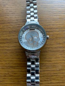 マークエコー・スカル時計