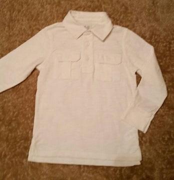 ★babyGap★長袖ポロシャツ/size110