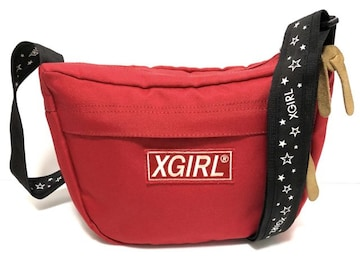 X-GIRL エックスガール ショルダーバッグ 星柄 A
