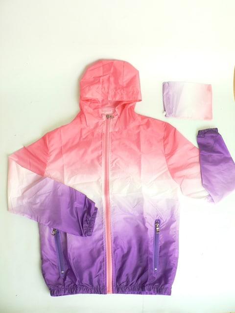 フーディウインドブレーカー・パーカー ・UVカット ◆新品  < 女性ファッションの