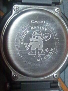 カシオG-SHOCKマッドマン腕時計AW-570 JAPAN4液晶デジタル+アナログ