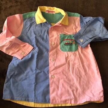 CHIEKO SAKU カラフルシャツ90