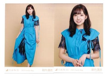 乃木坂46 新内眞衣 2種コンプ セミコンプ 生写真 2021 福袋限定