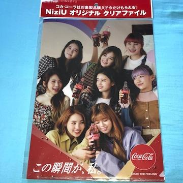 ♯NiziU♯クリアファイル コカ・コーラ☆☆☆☆☆☆