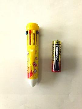 新品☆未使用♪プーさん10色ボールペン(ジャンク)
