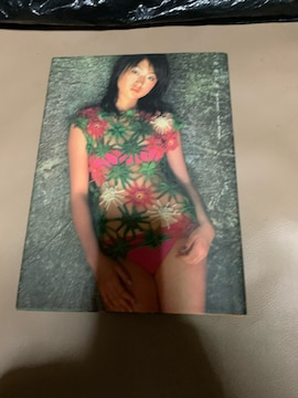 小沢加奈子 写真集  指の記憶
