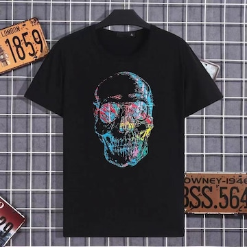 新型 男性服の流行ブランドのプリント図案のTシャツ韓国版