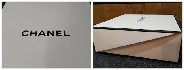 超美品 シャネル CHANEL 空箱 箱 ケース ボックス ギフト < ブランドの