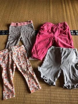 女の子レギンスパンツズボンまとめ売り6070