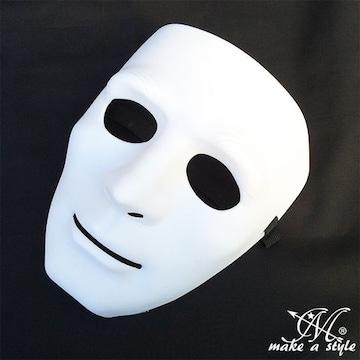ヒップホップ ダンスマスク MASK お面 白 ホワイト 96 B系