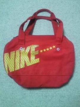 NIKE ナイキ レトロ シンプル ミニ ボストンバッグ レッド バッグ BAG  星 スター
