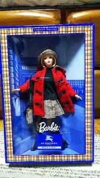 Barbie バービー人形 バーバリーブルーレーベル 新品 正規品