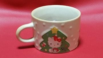 送料無料/ハローキティ/クリスマスデザインミニマグカップ