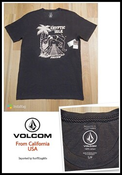 [VOLCOM]最新ヴィンテージ加工T★本物USA直輸入モデル!特価SALE!
