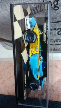 1/43 ミニチャンプス製品 ルノー F1チーム R23 フェルナンドアロンソ 未開封 限定