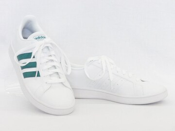 adidas アディダス グランドコート EE7905 WT/GR 24.5cm