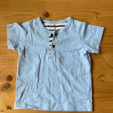 シンプル半袖Tシャツ70cm