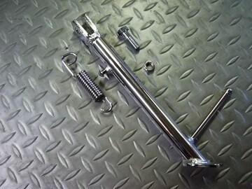 (1262)GSX250Eゴキのメッキロングサイドスタンド新品