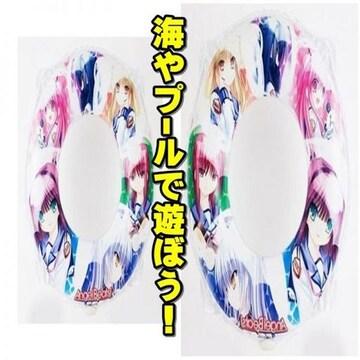 【遊び心満点】うきわ 60cm オールキャスト Angel Beats!